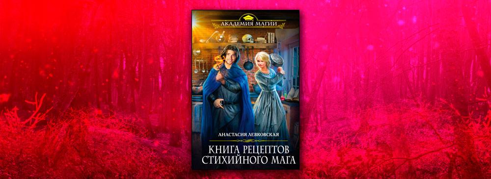 Книга рецептов стихийного мага (Анастасия Левковская)